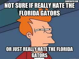 Gator hater meme