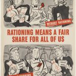 world war 2 rationing poster