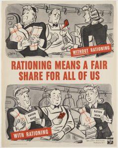 world war 2 rationing poster
