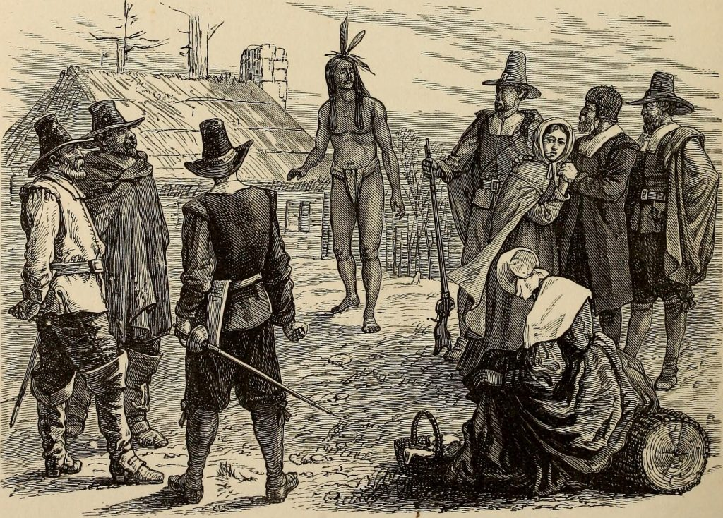 Pilgrims and Squanto