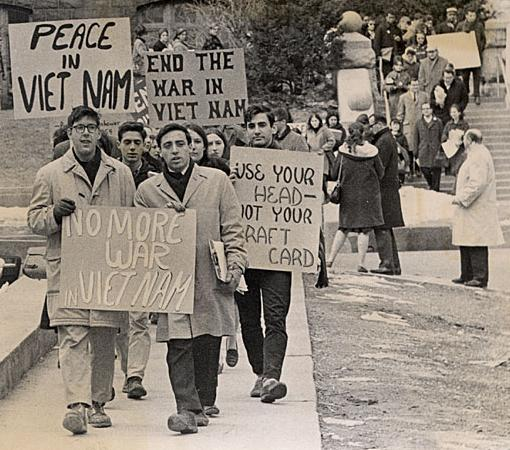 Anti war protests in the 60s